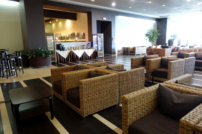 Review: Business Class Lounge, Domodedovo Airport (DME), Moscow