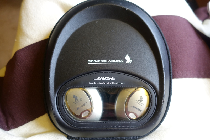 Bose Noise Cancelling Headphones, Singapore First Class Review, 777