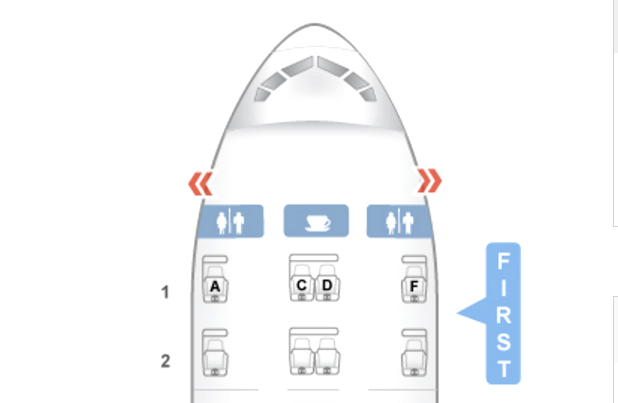 Singapore Airlines 777 First Class Seat Map