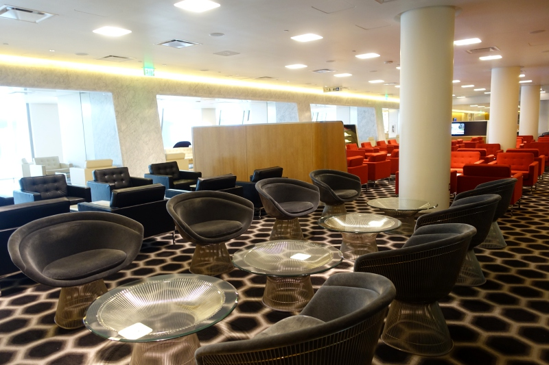 Qantas First Class Lounge Los Angeles LAX Review