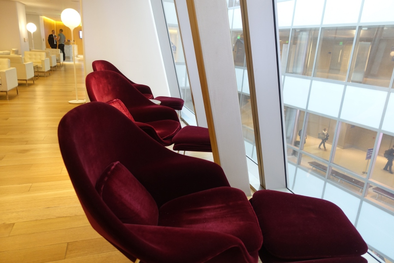 Relaxation Chairs, Qantas First Class Lounge LAX Review
