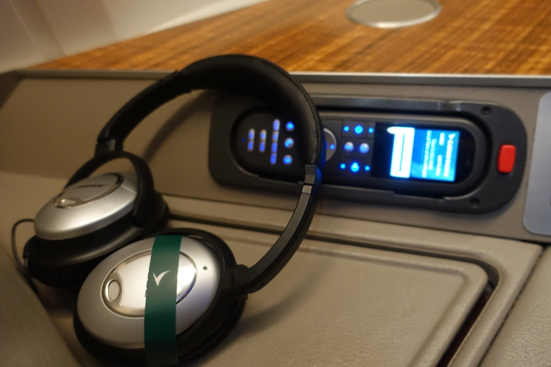 Bose Headphones, Cathay Pacific First Class Review