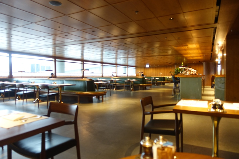 Dining Room, Cathay Pacific The Pier First Class Lounge Review