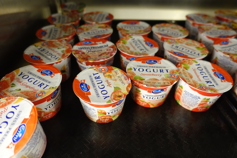 Emmi Yogurt, The Pier First Class Lounge Review