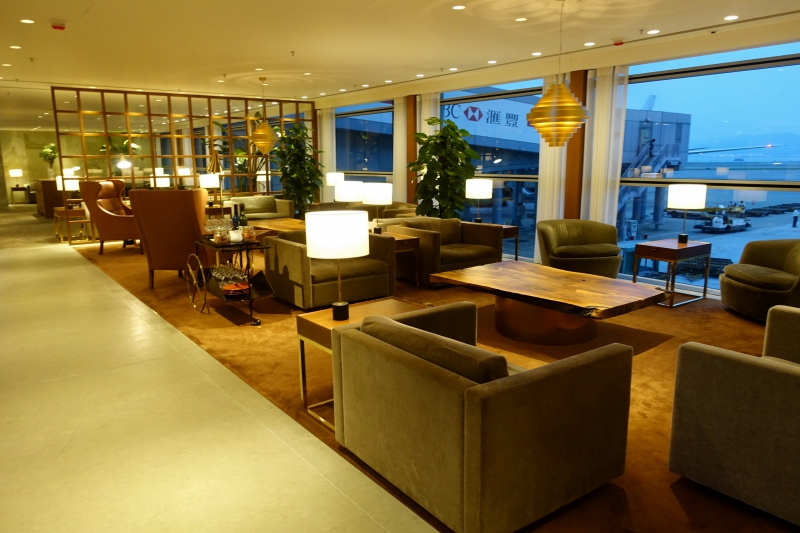 Cathay Pacific The Pier First Class Lounge Review, HKG