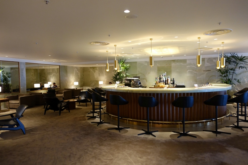 The Bar, Cathay Pacific The Pier First Class Lounge Review, HKG