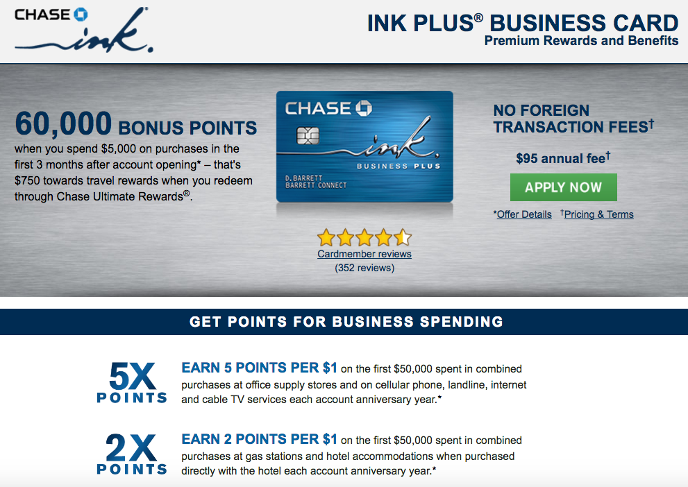 Get the Ink Plus Now for 5X to Be Grandfathered?