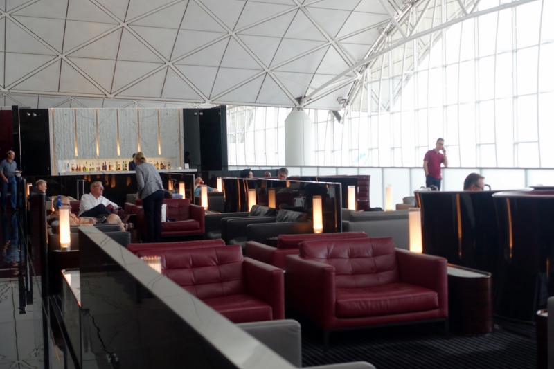 Cathay Pacific The Wing First Class Lounge Review