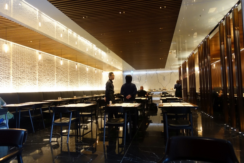 The Haven Restaurant, Cathay The Wing First Class Lounge Dining Review