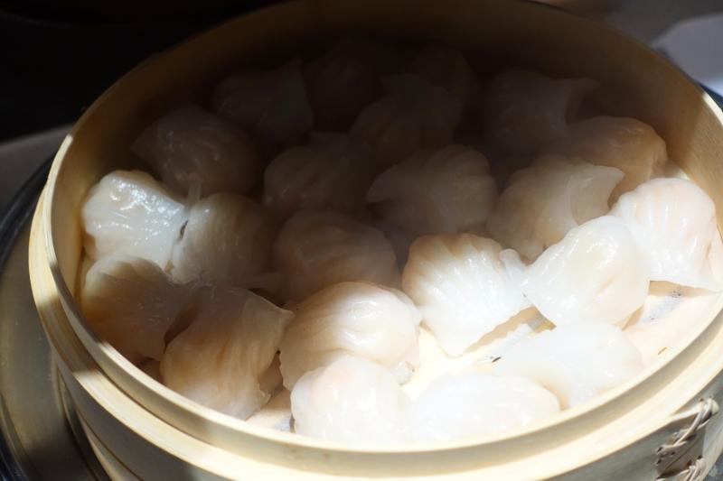 Har Gau Dim Sum, The Pier Business Class Lounge Review, HKG
