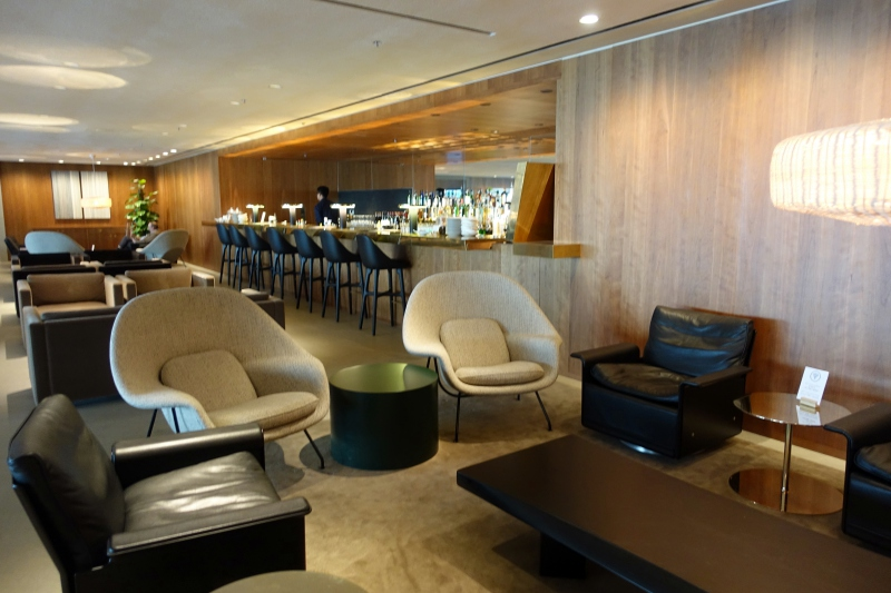 Seating, The Pier Business Class Lounge Review, HKG