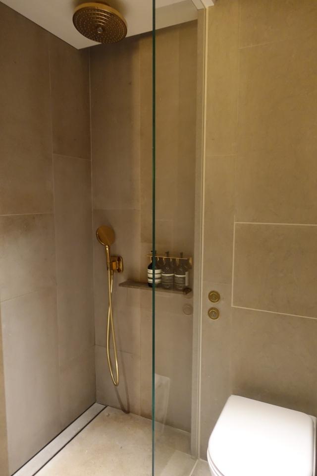 Rain Shower, The Pier Business Class Lounge Review, HKG
