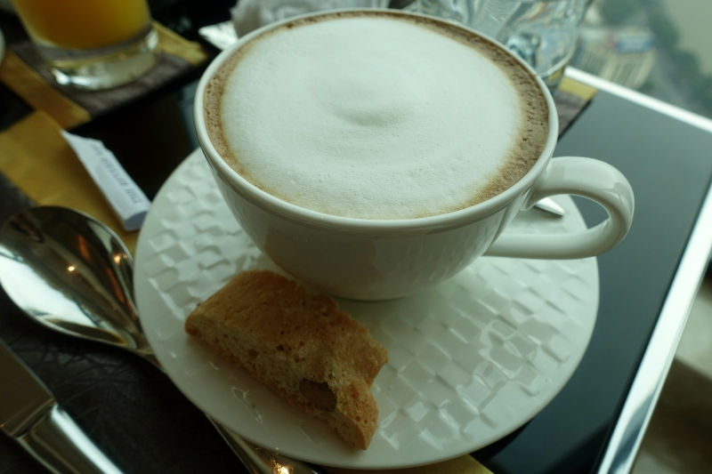 Cappuccino, Club Lounge, The Reverie Saigon Review