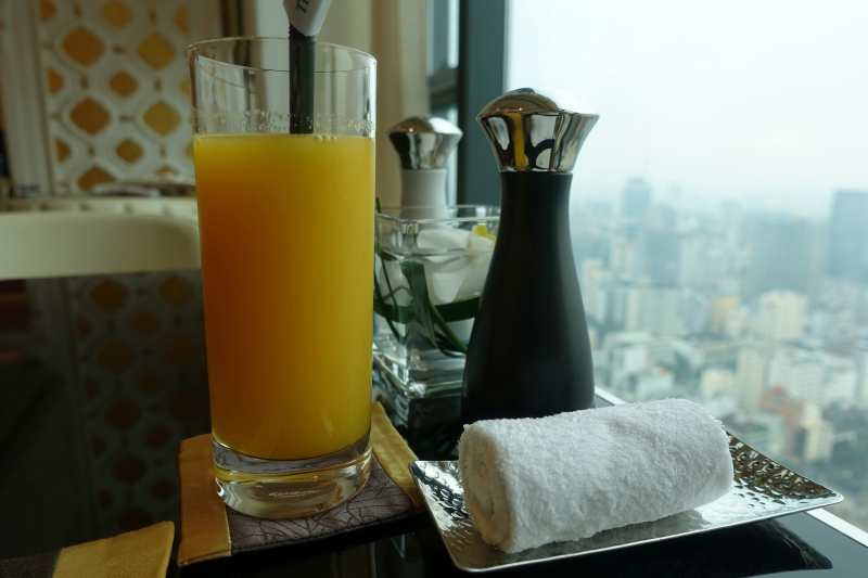 Orange Juice, Club Lounge, The Reverie Saigon Review