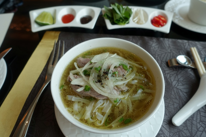 Pho Soup, Club Lounge, The Reverie Saigon Review