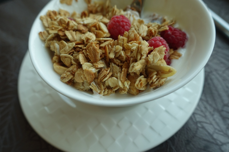 Yogurt with Granola, Club Lounge, The Reverie Saigon Review