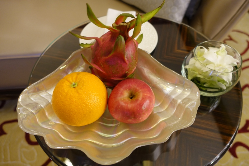 Fruit Welcome Amenity, The Reverie Saigon Review