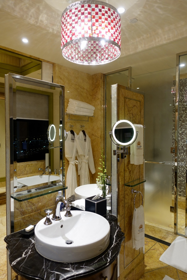 Panorama Deluxe Room Bathroom, The Reverie Saigon Review