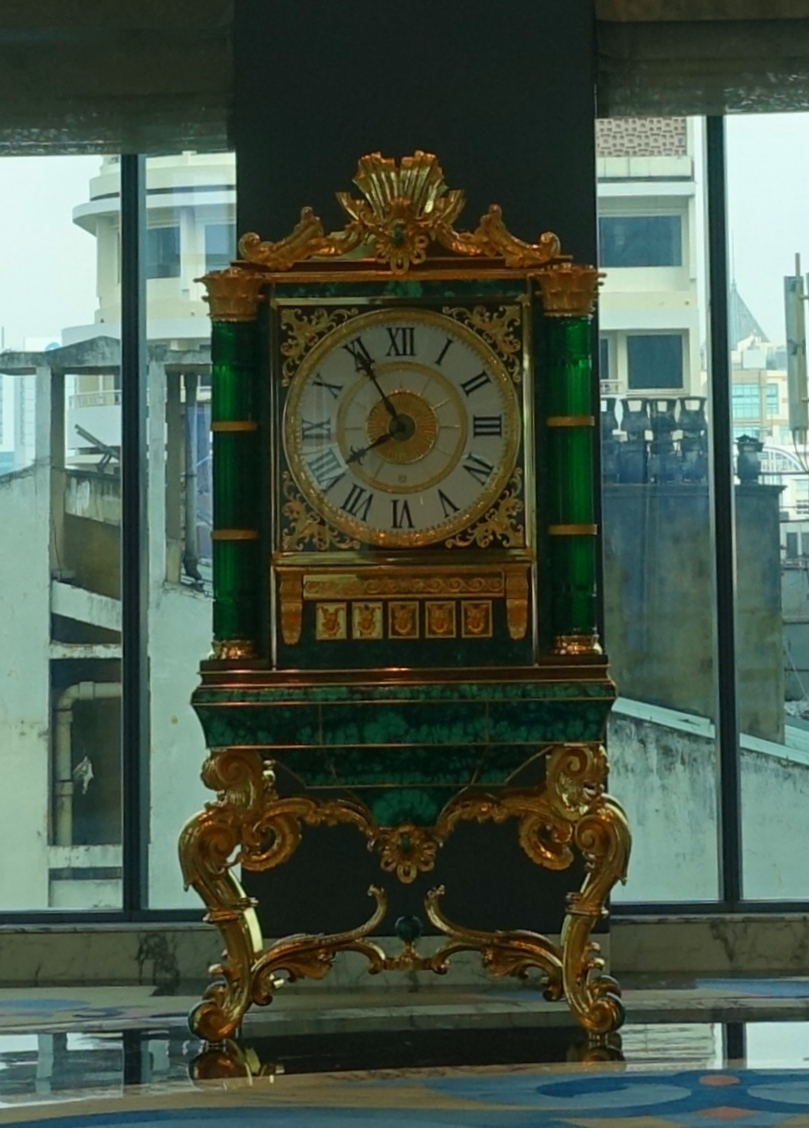 Green Baldi Clock, The Reverie Saigon Review