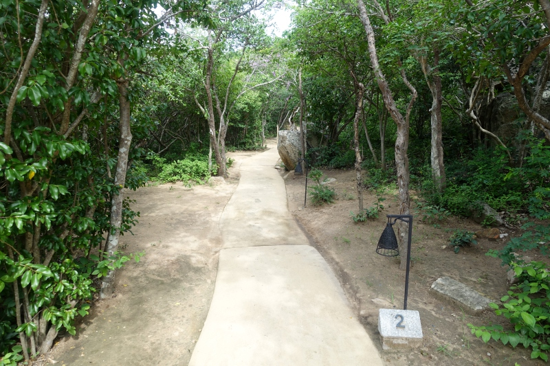 Path Leading to Villa #2, Amanoi Review