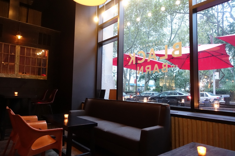 Black Barn NYC Restaurant Review