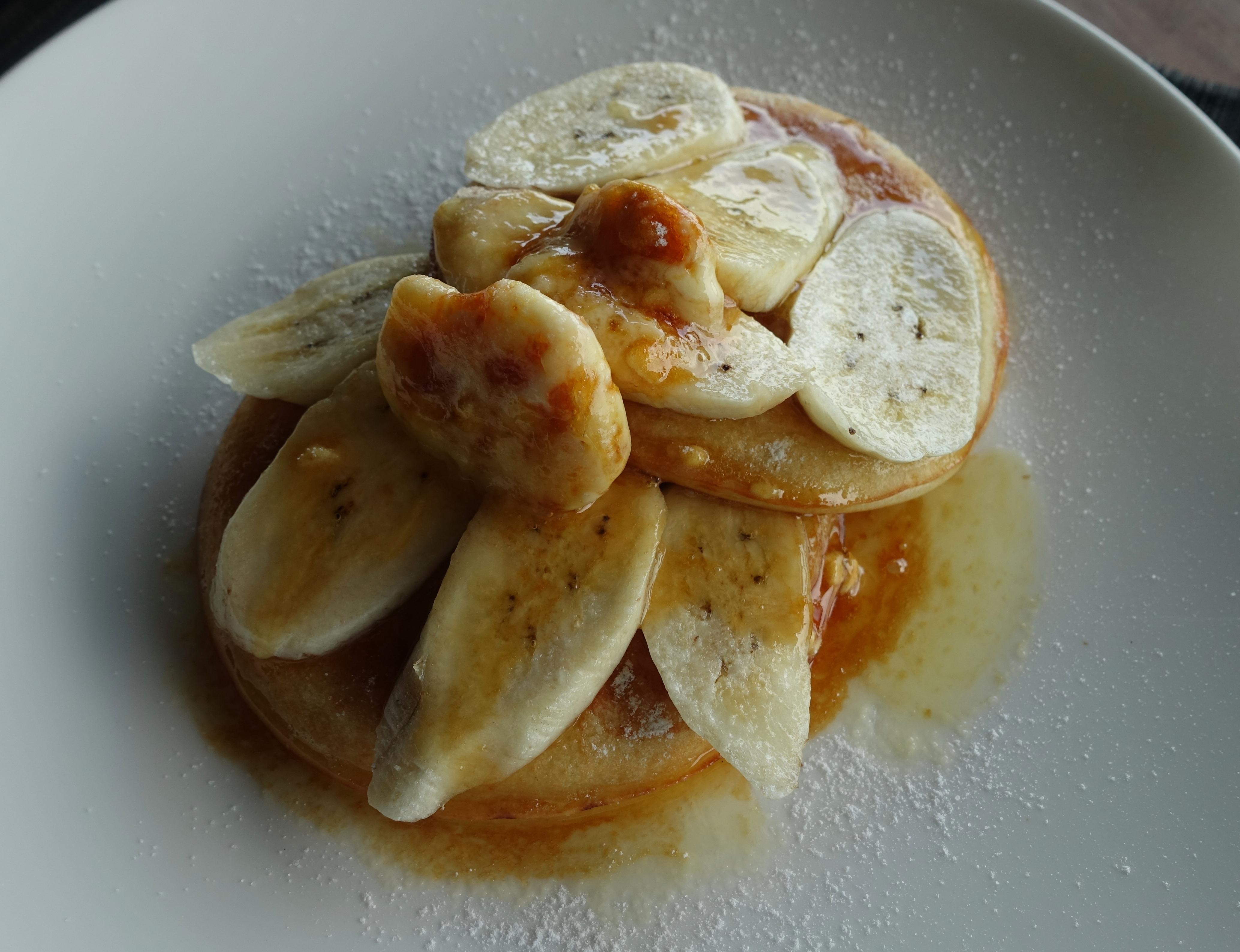 Amanoi Breakfast Review-Ricotta Pancakes