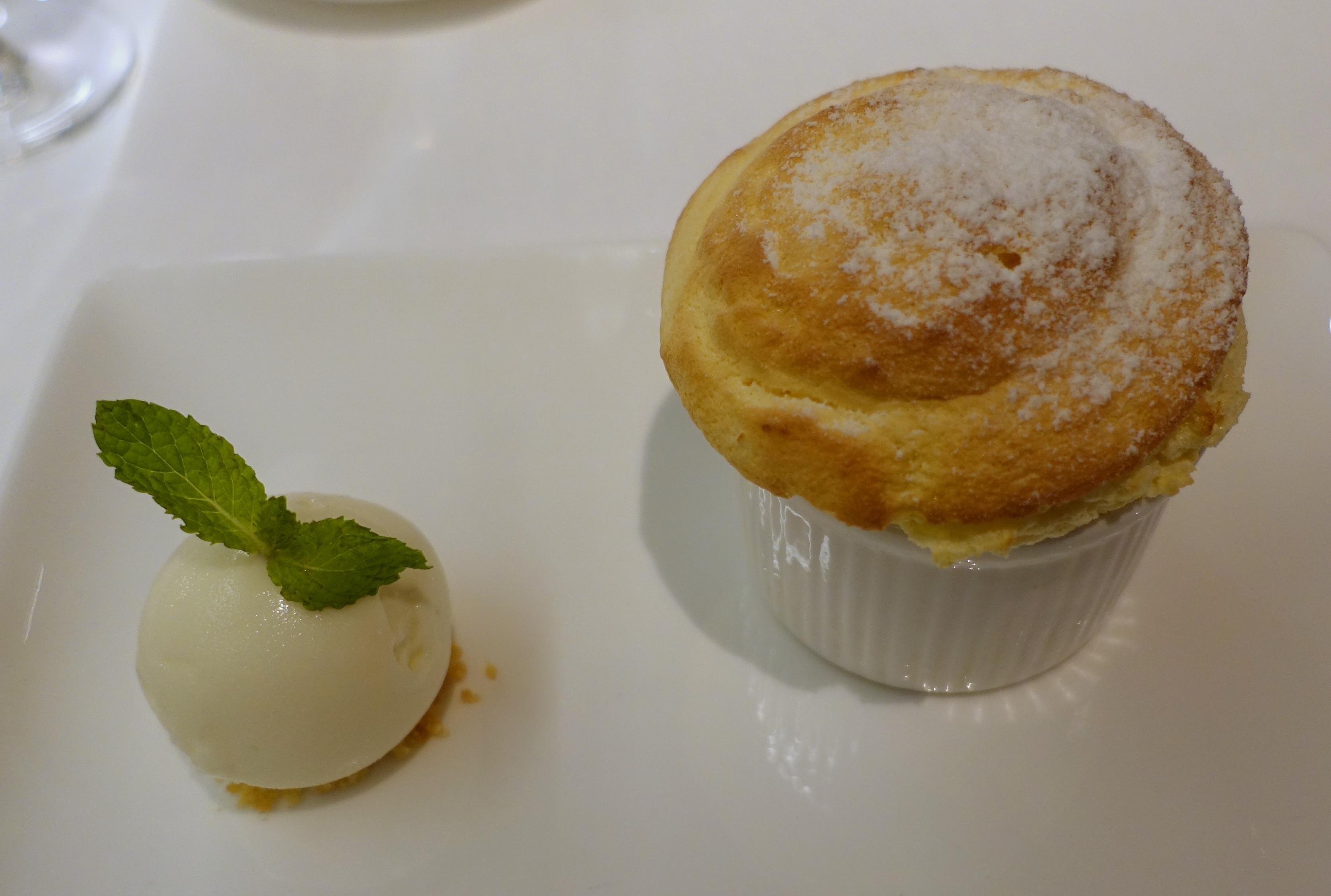 Passion Fruit Souffle for Dessert, Amanoi Review