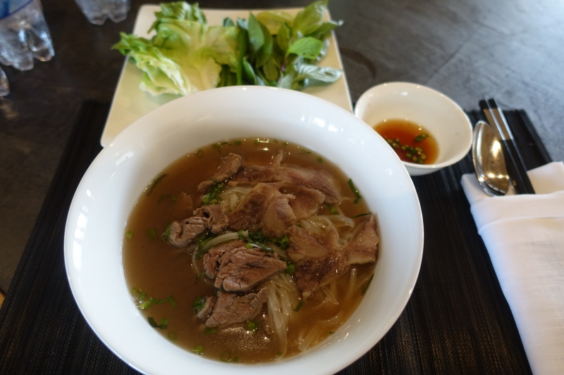 Amanoi Review: Pho Beef Noodle Soup