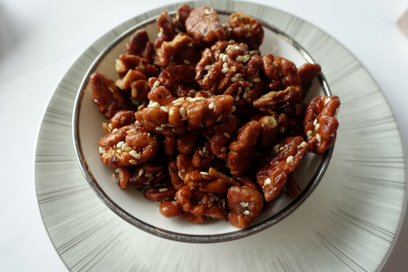 Caramelized Walnuts, Yan Toh Heen Review