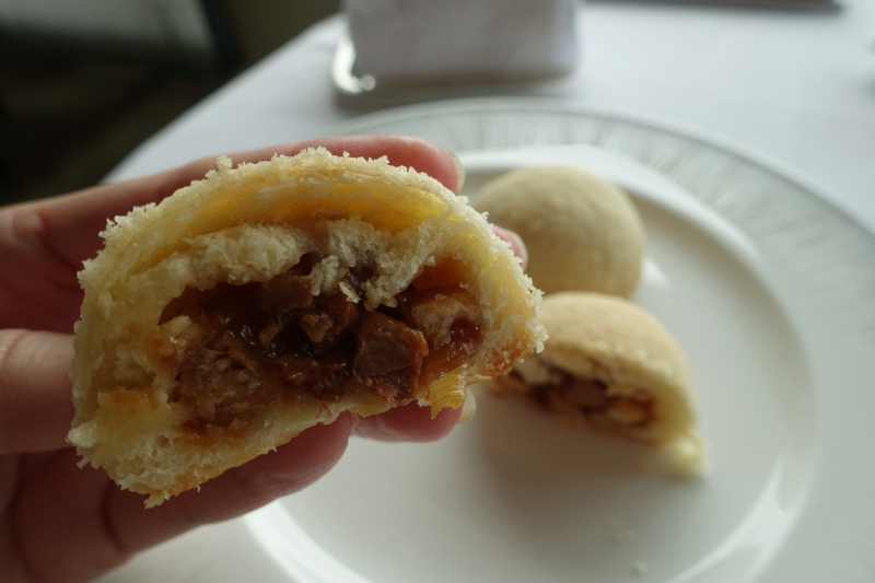 Baked Roast Duck and Taro Bun, Yan Toh Heen Review