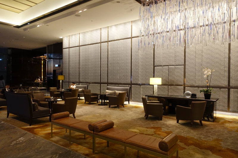 The Ritz-Carlton Hong Kong 9th Floor Arrival Lobby
