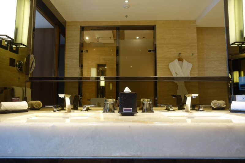 His and Hers Sinks, The Ritz-Carlton Hong Kong Review
