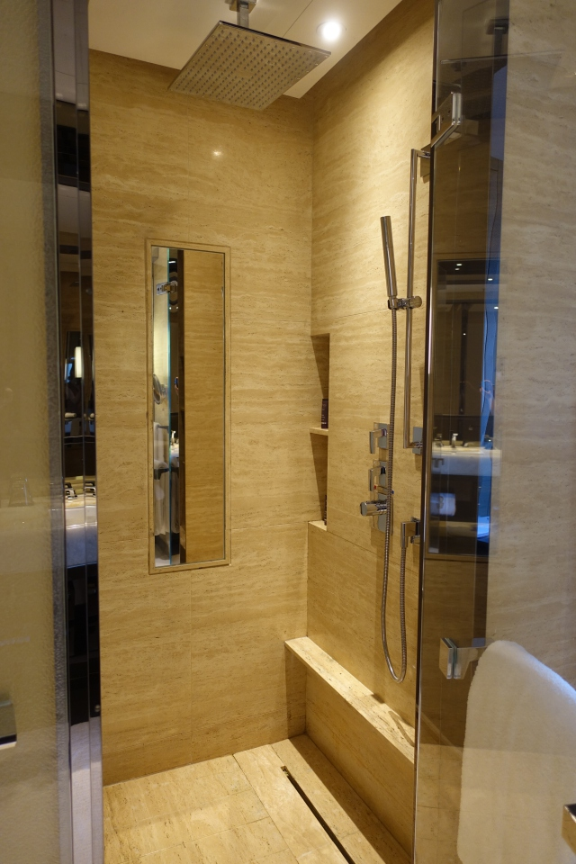 Rain Shower, The Ritz-Carlton Hong Kong Review