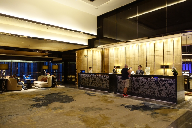103rd Floor Main Lobby, The Ritz-Carlton Hong Kong Review
