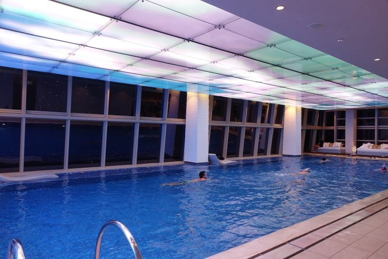 Swimming Pool, Floor 118, The Ritz-Carlton Hong Kong Review