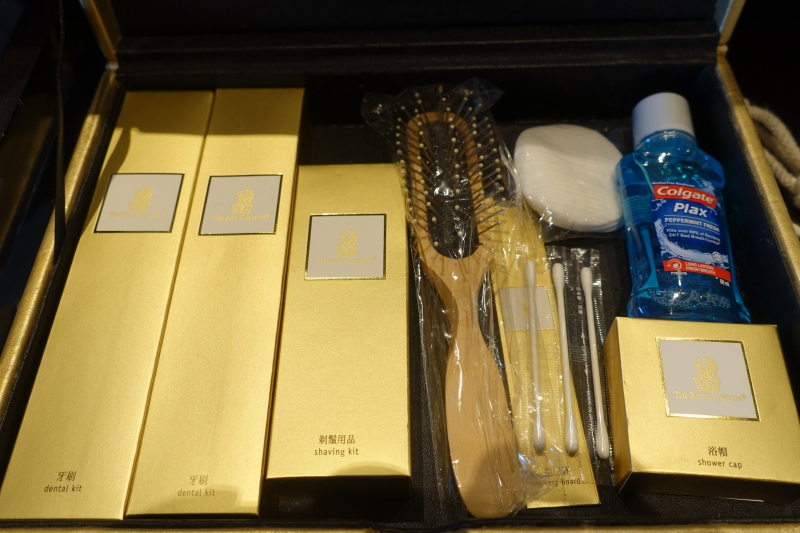 Toiletries, The Ritz-Carlton Hong Kong Review