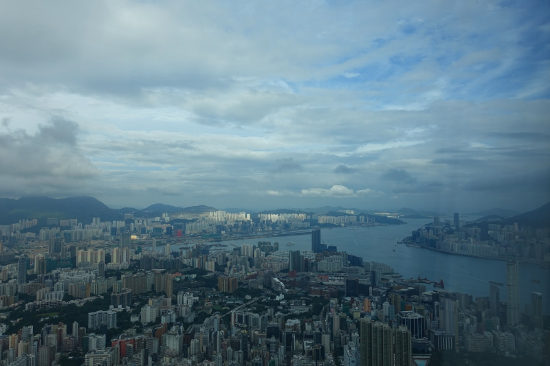 View from Club Grand Victoria Harbour Room, Ritz-Carlton Hong Kong Review