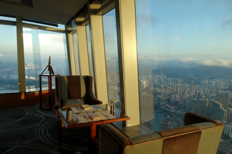 Review: Ritz-Carlton Hong Kong Club Lounge