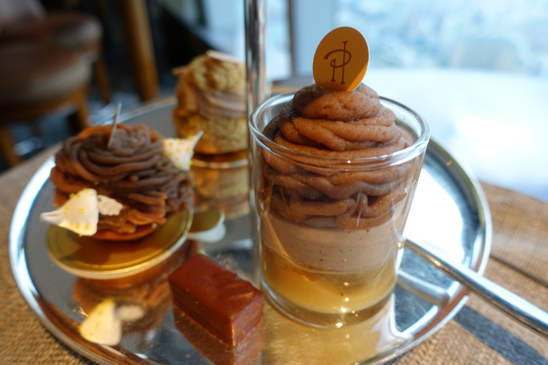 Pierre Herme Desserts, Ritz-Carlton Hong Kong Club Lounge Review