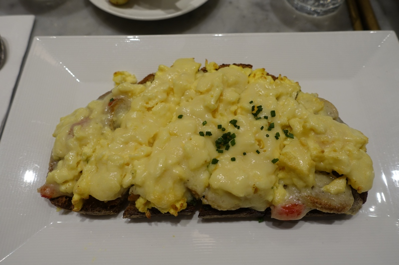 Sausage and Egg Tartine, Maison Kayser NYC Review