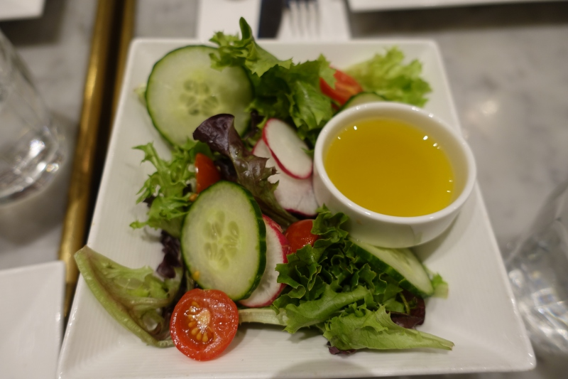 Side Salad, Maison Kayser NYC Review