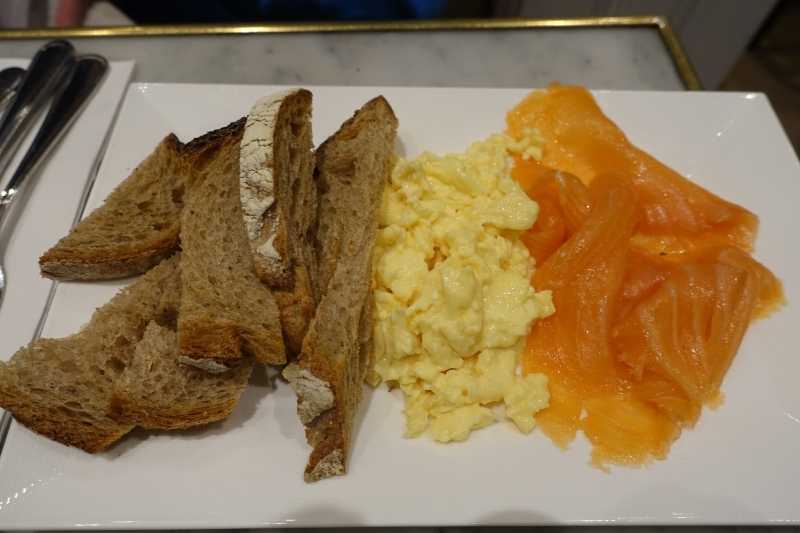 Eggs and Smoked Salmon, Maison Kayser NYC Brunch Review