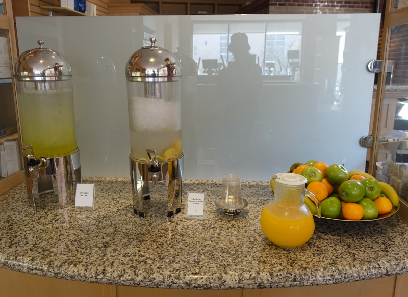 Fresh Fruit and Water, Four Seasons Washington, DC Health Club