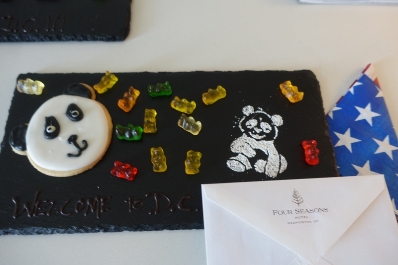Kids' Welcome Panda Cookie, Four Seasons Washington, DC Review