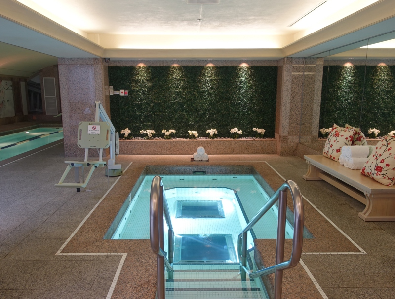 Jacuzzi Hot Tub, Four Seasons Washington DC Review