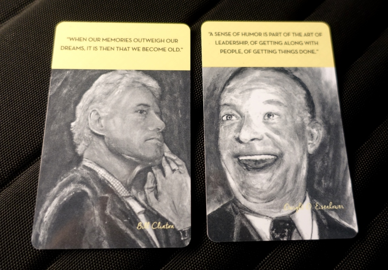 Clinton and Eisenhower Card Keys, Four Seasons Washington, DC Review
