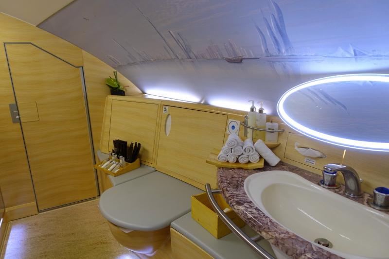 Emirates A380 First Class Bathroom