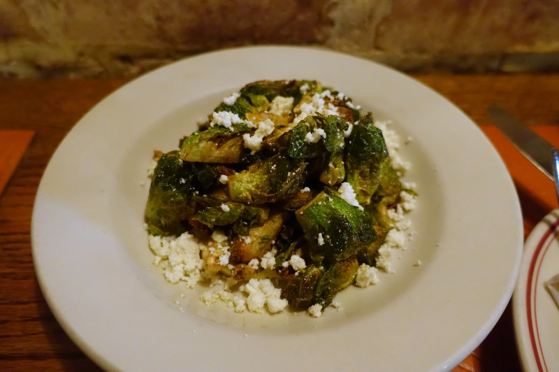 Brussels Sprouts, The Red Hen Washington, DC Review