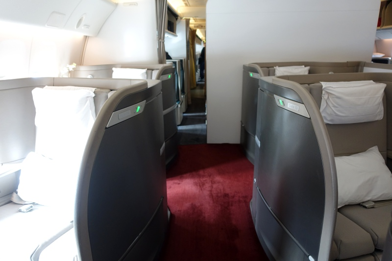 Cathay Pacific First Class Review, Hong Kong to LAX