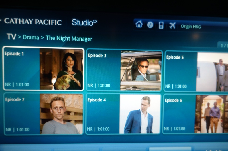 The Night Manager, Studio CX, Cathay Pacific Review